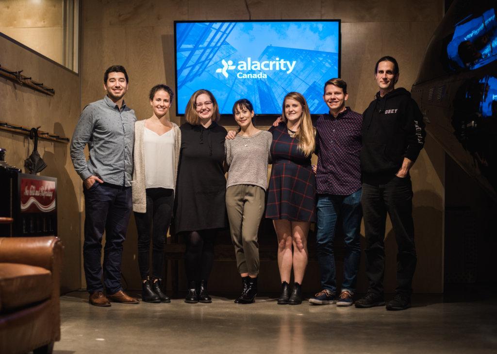 Alacrity Canada team photo